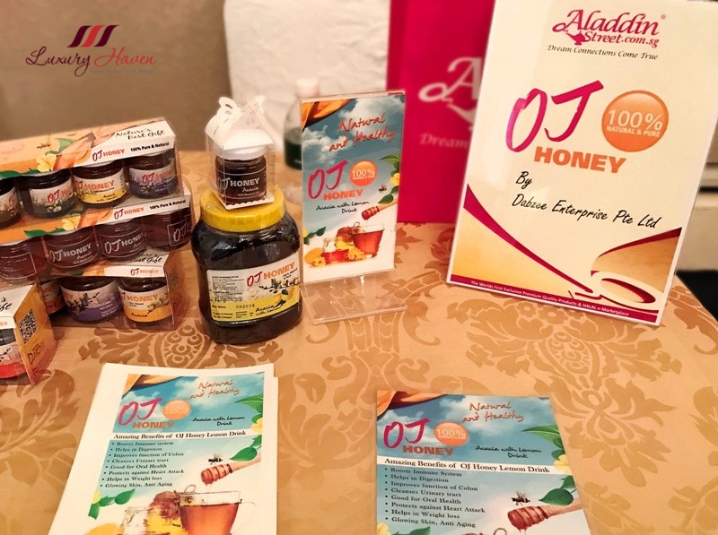 aladdinstreet sg halal food o&j honey shinjur Chitral