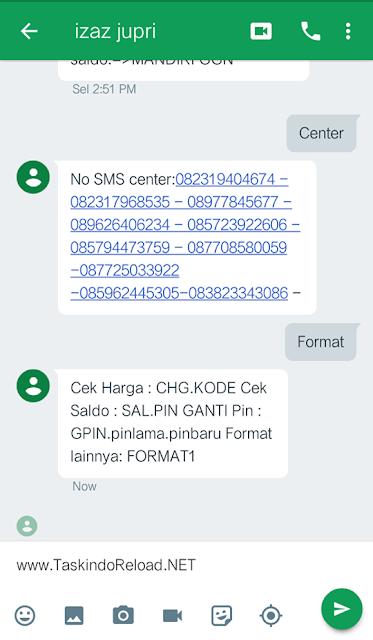 Cara Mudah Transaksi Pulsa Via Aplikasi GTalk / Hangouts di Taskindo Reload