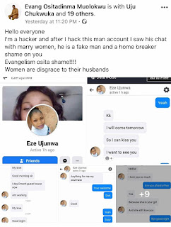 Shame: Pastor Exposed, Account Hacked, You cannot Believe What Was Found
