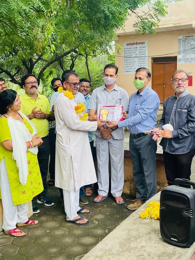 Shri Krishna janmashtami || विदिशा :  गोपाल कृष्ण गौशाला में नए तरीके से मनाया भगवान श्री कृष्ण का जन्मोत्सव !!
