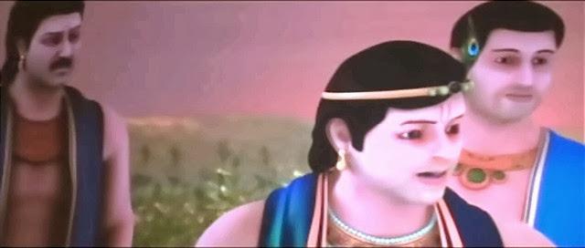 Screen Shot Of Hindi Movie Mahabharat 3D (2013) Download And Watch Online Free at worldfree4u.com