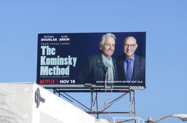 Kominsky Method series billboard