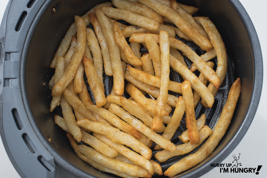 How long to cook frozen fries in air fryer