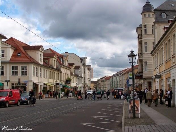 Potsdam, centro storico