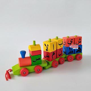 Mainan Kereta Kayu