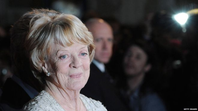 Dame Maggie Smith 'astonished' to win Emmy