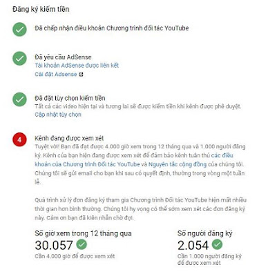 Hướng dẫn cách bật kiếm tiền cho kênh Youtube mới nhất 2019