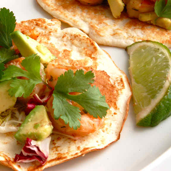 How to Make Healthy Shrimp Tacos