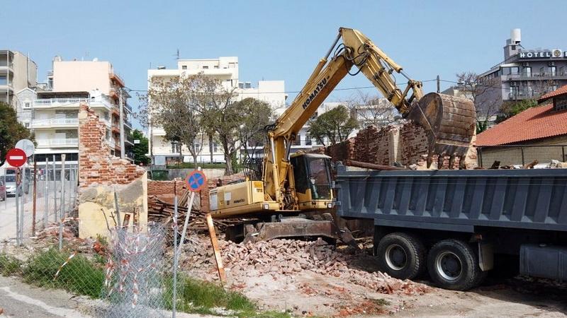 Απάντηση στην παραπληροφόρηση για την κατεδάφιση της αποθήκης του ΟΣΕ στο λιμάνι της Αλεξανδρούπολης