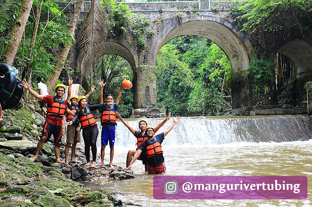 Arena Tempat Wisata Mangu River Tubing, Magelang