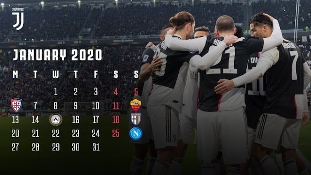 kalender pertandingan juventus 2020