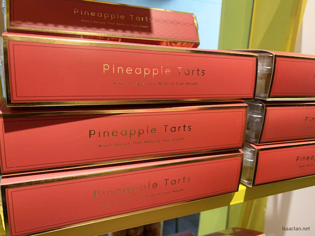 Boxes of Pineapple Tarts