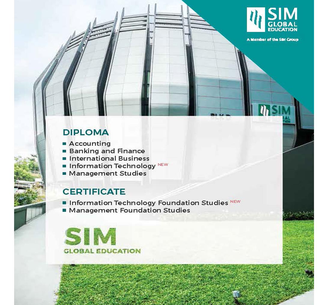 Diploma and Certificate Program | SIM Singapore