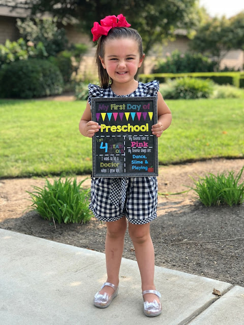 Back to School- First Day Printable