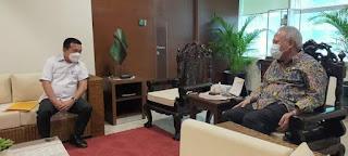 Gubernur Jambi Al Haris Temui Menteri PUPR, Soal Infrastruktur Pelabuhan Ujung Jabung