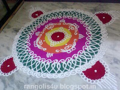 Multicircle Rangolis