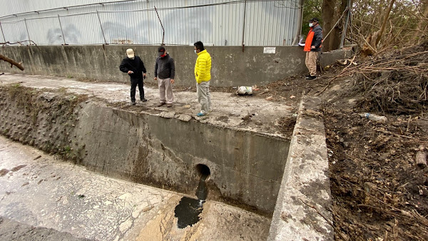 彰化查獲無良肥料廠 廢水直接排雨水道祭停工令