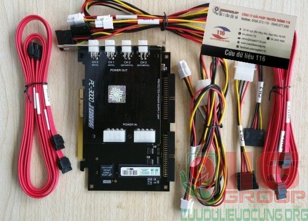 Bộ máy cứu dữ liệu PC3000 PCI Express