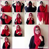 Tutorial Tentang Cara Memakai Hijab Ala Ria Ricis