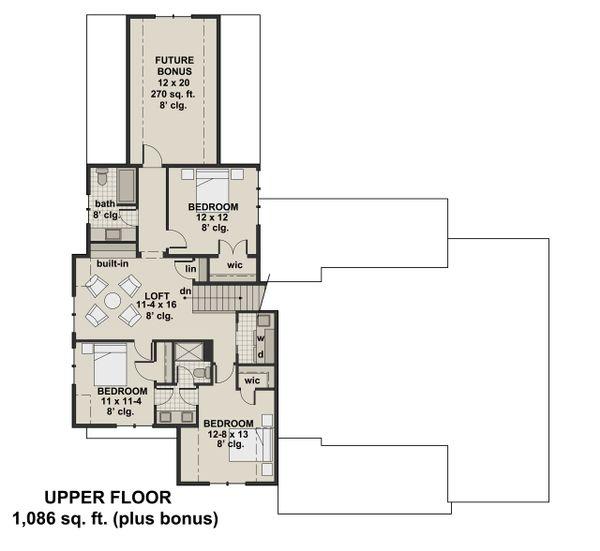 แปลนบ้าน 4 ห้องนอนสไตล์อเมิรกัน