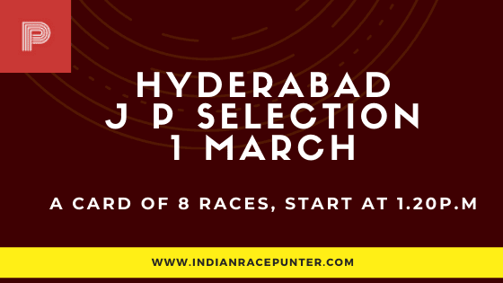 Hyderabad Jackpot Selections 1 March