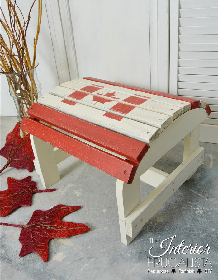 Canadian Footstool