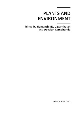 [EBOOK] PLANTS AND ENVIRONMENT, Edited by Hemanth KN. Vasanthaiah and Devaiah Kambiranda, Published by INTECHWEB.ORG