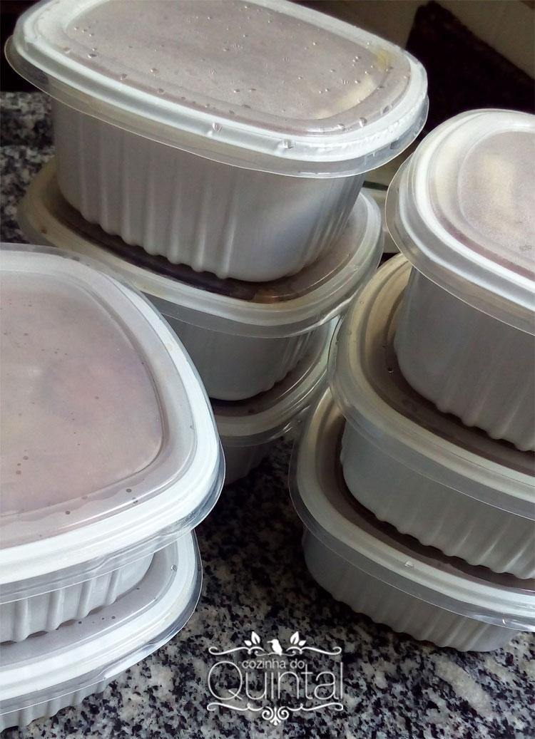 Feijoadinha carioca com sugestão de embalagem Galvanotek
