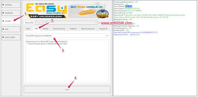remove frp Huawei MediaPad T2 7.0 Pro PLE-701L