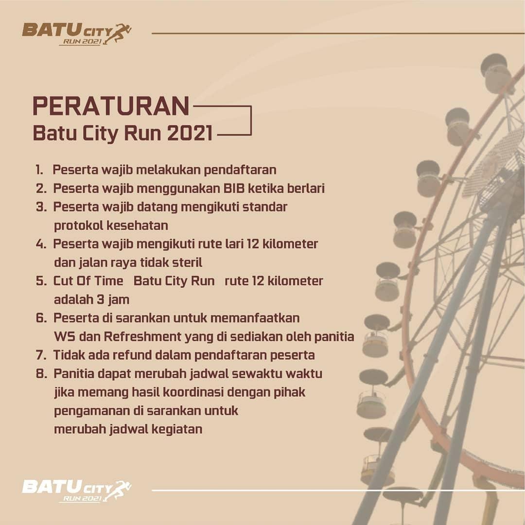 Rule 👟 Batu City Run • 2021