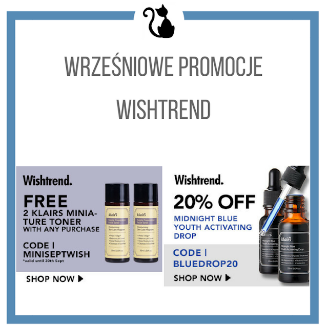 Wrześniowe promocje w sklepie Wishtrend