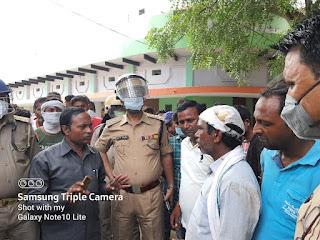लोहिंदा चौराहे पर ग्रामीणों ने लगाया जाम   #NayaSaveraNetwork