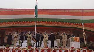 darbhanga-comissenor-flag-hoist