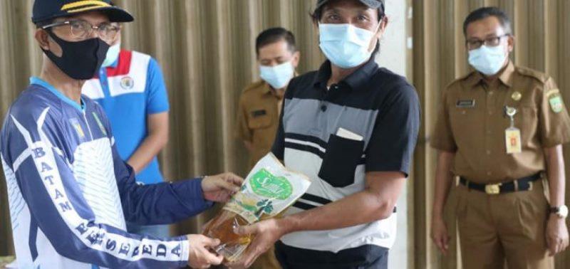 Pemko Batam Mulai Distribusikan Bantuan Bahan Pokok Tahap II pada Warga