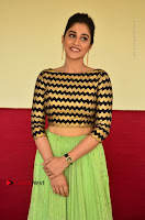 Actress Regina Candra Latest Pos in Green Long Skirt at Nakshatram Movie Teaser Launch  0093.JPG
