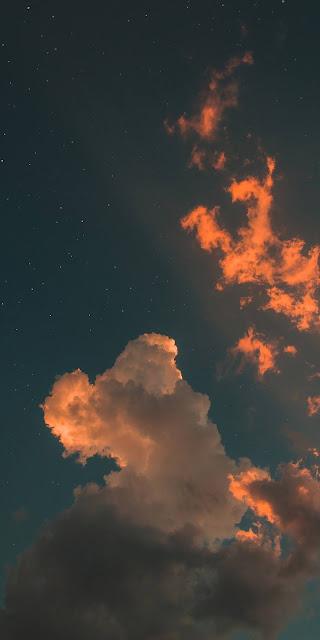 Những ngôi sao sáng chói trên bầu trời đêm
