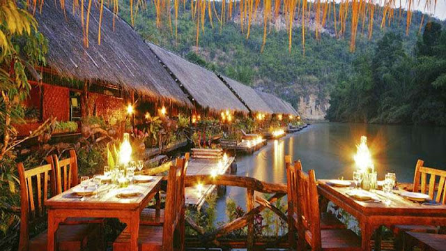 The Floatel River Kwai Jungle Rafts