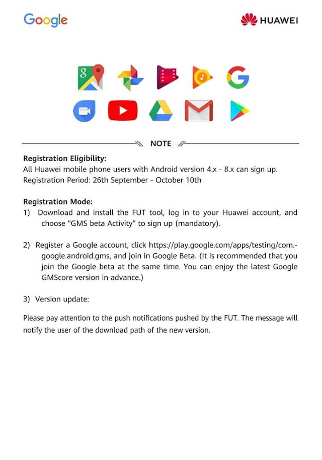 Be a Beta Tester for the new Google Play service today!