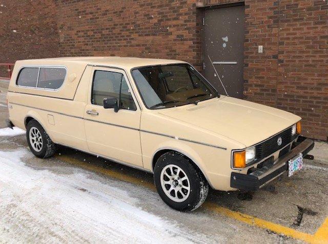 Happy Easter: 1981 Volkswagen Rabbit Caddy