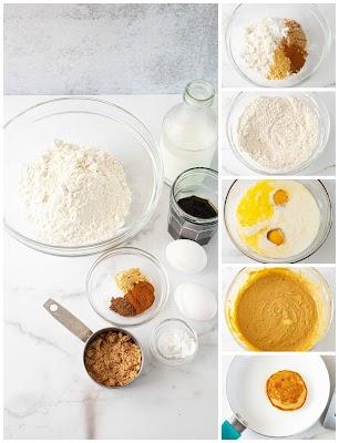 Pancake process photo