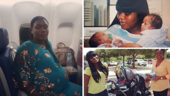 Excited Lady Welcomes Twins After 7 Miscarriages (photos)