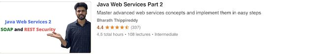 Java Web Services Part-2