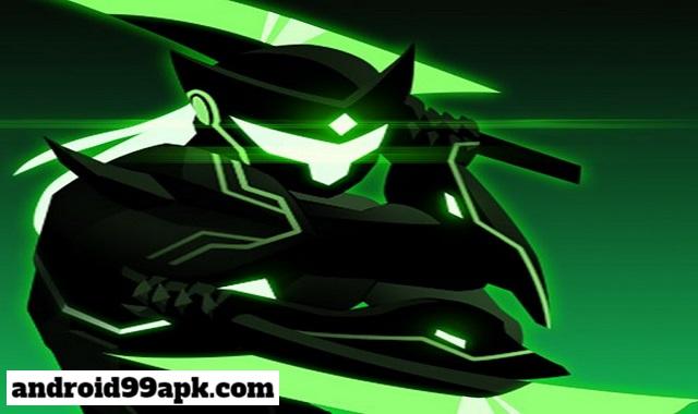 لعبة Overdrive – Ninja Shadow Revenge v1.8.1 مهكرة بحجم 55 MB للأندرويد