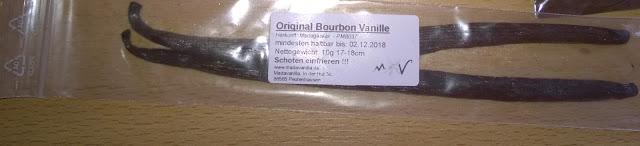 Bourbon Vanille Stangen
