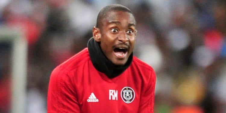 Orlando Pirates caretaker coach Rhulani Mokwena