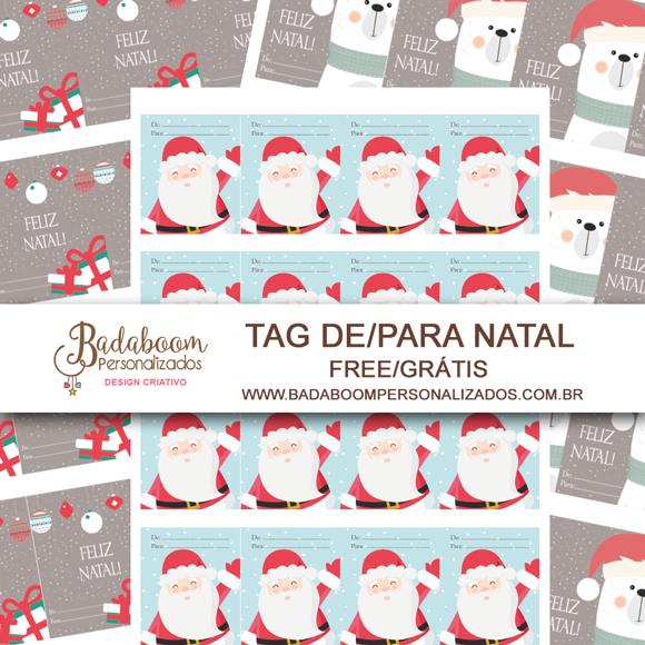 Natal, papai noel, urso, tag, tag presente, free, grátis, gratis, para baixar, arte digital, kit digital