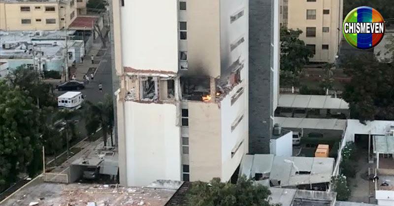 Explotó un apartamento completo en Bellas Artes de Maracaibo