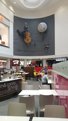 Cat and Fiddle Clock from the lower level food square.