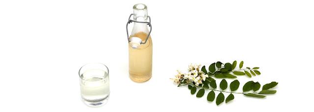 Sirop de fleurs d'acacia
