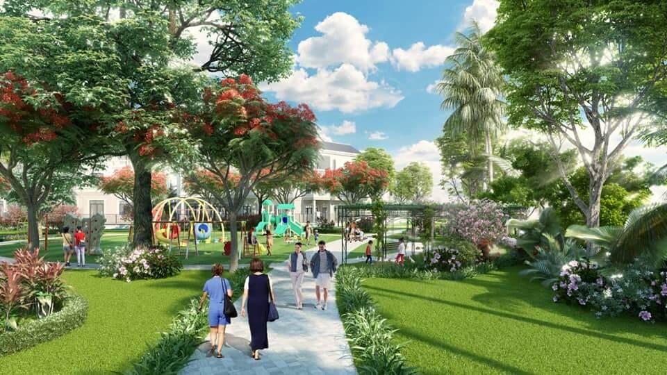 Không gian sống xanh dự án Thanh Hà Mường Thanh